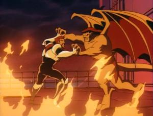 "And Goliath uses his signature ""passive-aggressively Waltz"" move."