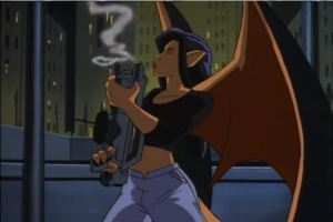 """Then Gargoyle Elisa SHOOTS DEMONA with her BIG FUCKING GUN."" - Drunk Weisman"